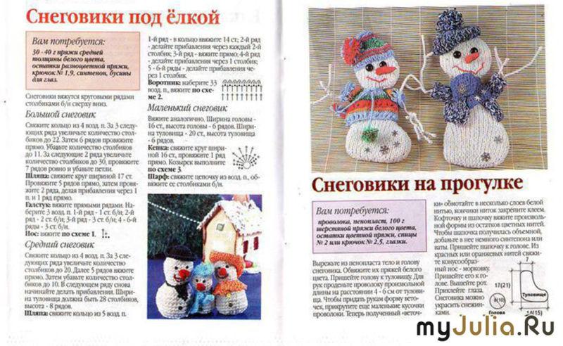 Снеговик своими руками на Новый год из подручных материалов этап 63