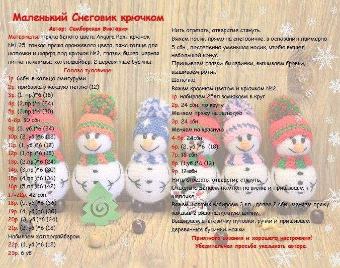 Снеговик своими руками на Новый год из подручных материалов этап 55