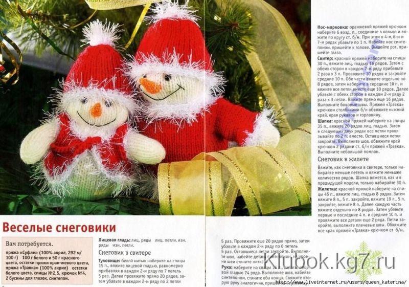 Снеговик своими руками на Новый год из подручных материалов этап 62