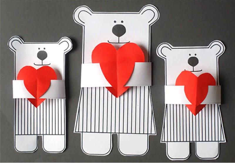 Картинки аву, открытки на день святого валентина своими руками из бумаги для детей