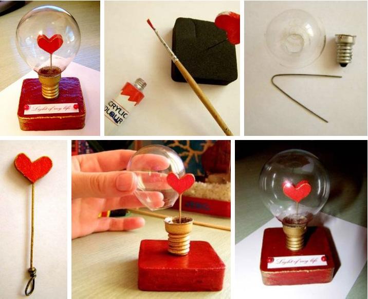 Подарки на 14 февраля своими руками: 70 оригинальных идей + мастер-классы этап 73