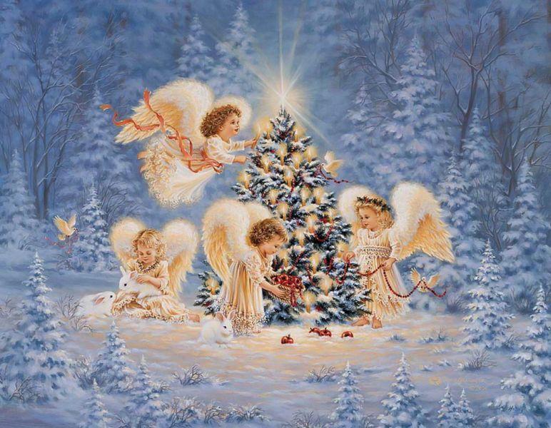 Поздравления с Рождеством Христовым: красивые пожелания, короткие стихи + картинки этап 2