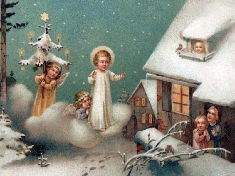 Поздравления с Рождеством Христовым: красивые пожелания, короткие стихи + картинки этап 14
