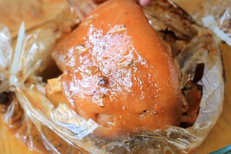 Свиная рулька запеченная в духовке — 7 рецептов приготовления этап 22