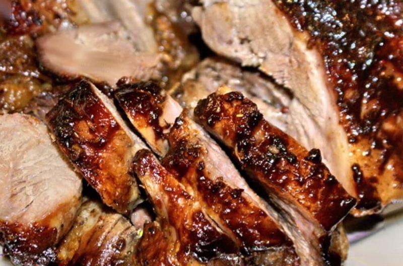 Свиная рулька запеченная в духовке — 7 рецептов приготовления этап 32