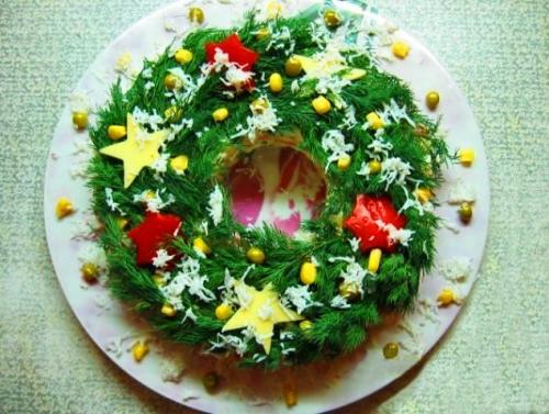 Салаты на Рождество Христово 2020 — 5 простых и вкусных рецептов этап 16