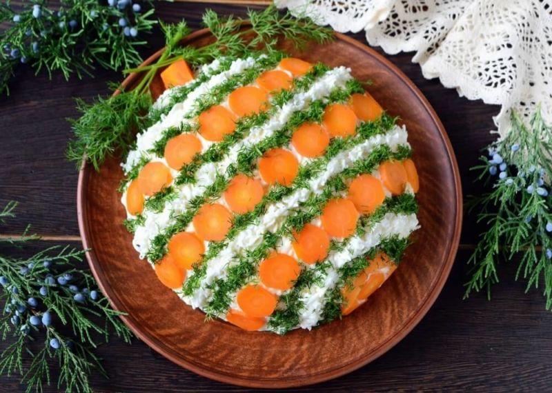 Салаты на Рождество Христово 2020 — 5 простых и вкусных рецептов этап 1