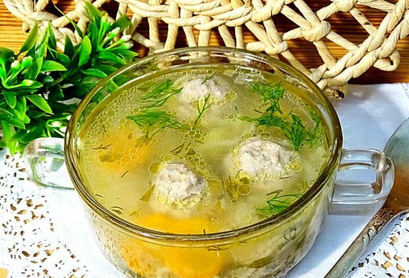 Суп с фрикадельками — 7 самых вкусных рецептов этап 29