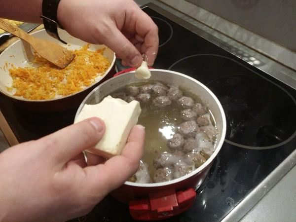 Суп с фрикадельками — 7 самых вкусных рецептов этап 12