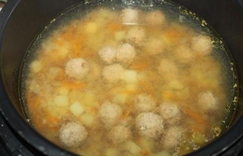 Суп с фрикадельками — 7 самых вкусных рецептов этап 22