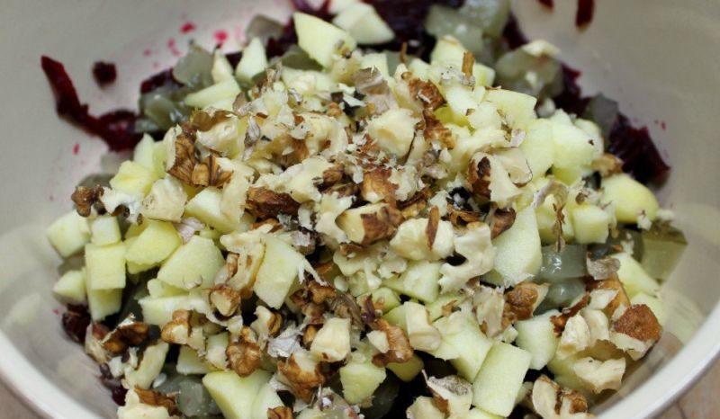 Салаты из вареной свеклы — 7 простых и очень вкусных рецептов этап 24