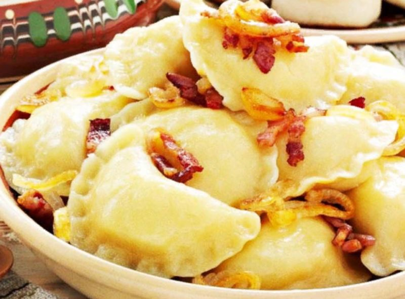 Вареники с картошкой: 6 пошаговых рецептов для приготовления дома этап 24