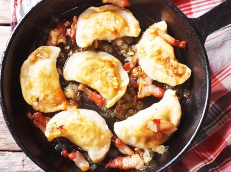 Вареники с картошкой: 6 пошаговых рецептов для приготовления дома этап 35