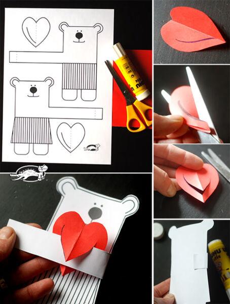 Поделки на День Святого Валентина своими руками для детей: самые красивые идеи поделок на 14 февраля этап 30