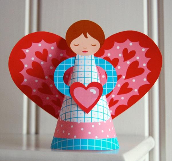 Поделки на День Святого Валентина своими руками для детей: самые красивые идеи поделок на 14 февраля этап 32