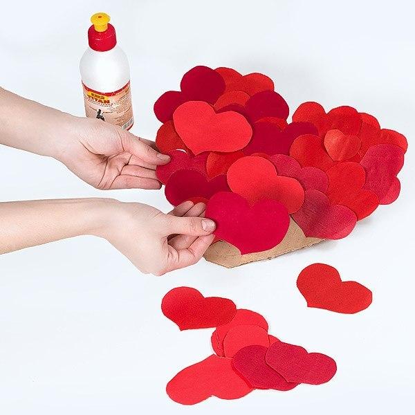 Поделки на День Святого Валентина своими руками для детей: самые красивые идеи поделок на 14 февраля этап 35
