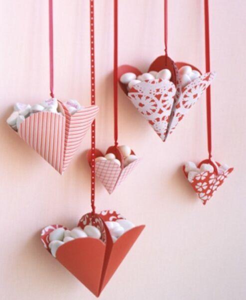 Поделки на День Святого Валентина своими руками для детей: самые красивые идеи поделок на 14 февраля этап 44