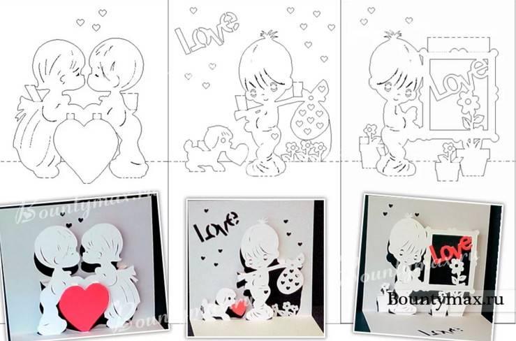 Поделки на День Святого Валентина своими руками для детей: самые красивые идеи поделок на 14 февраля этап 45