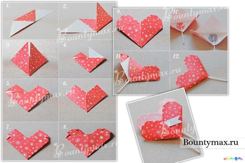 Поделки на День Святого Валентина своими руками для детей: самые красивые идеи поделок на 14 февраля этап 43