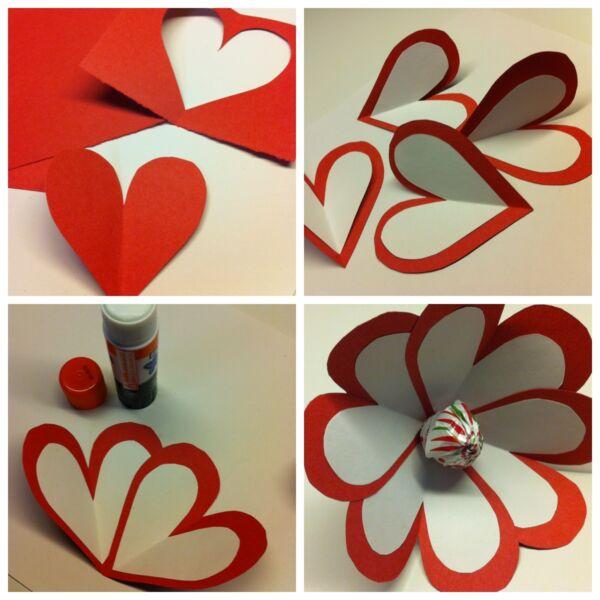 как сделать открытку с днем святого валентина из бумаги хотите поделить площадь
