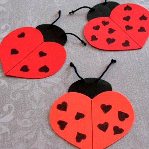 Поделки на День Святого Валентина своими руками для детей: самые красивые идеи поделок на 14 февраля этап 8
