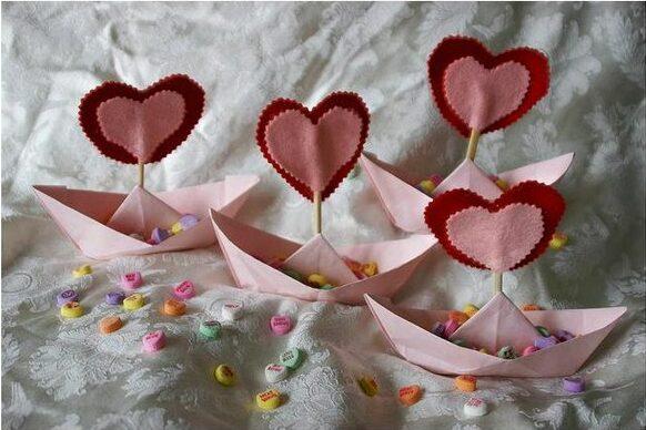 Поделки на День Святого Валентина своими руками для детей: самые красивые идеи поделок на 14 февраля этап 9