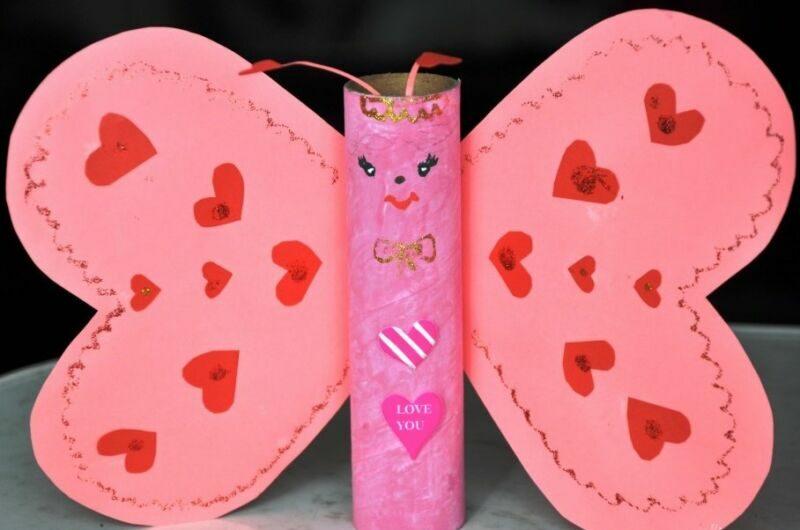 Поделки на День Святого Валентина своими руками для детей: самые красивые идеи поделок на 14 февраля этап 10