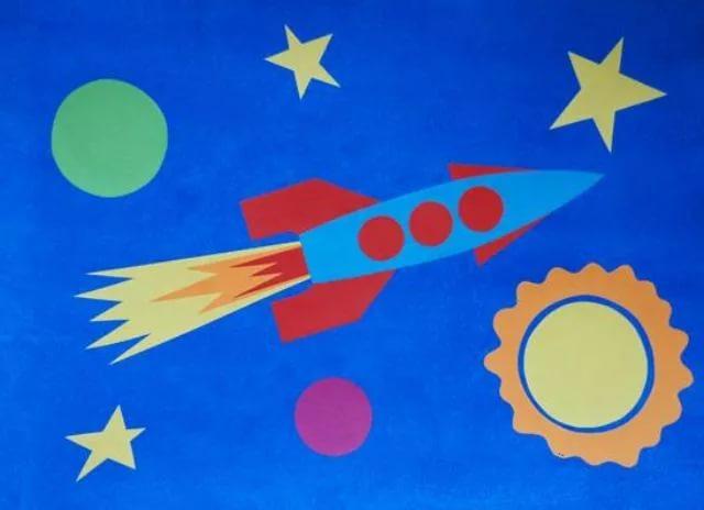 Ракета из бумаги и картона для детей: как сделать своими руками поделку ракету этап 84