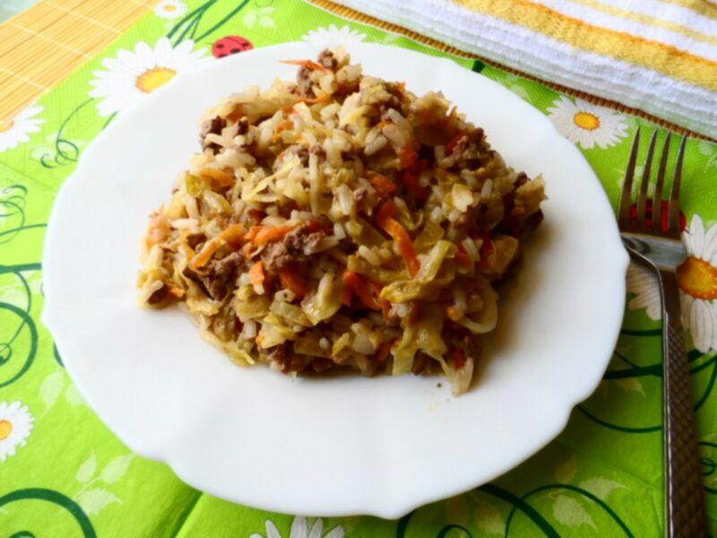 Голубцы с рисом и фаршем — 6 рецептов приготовления этап 33