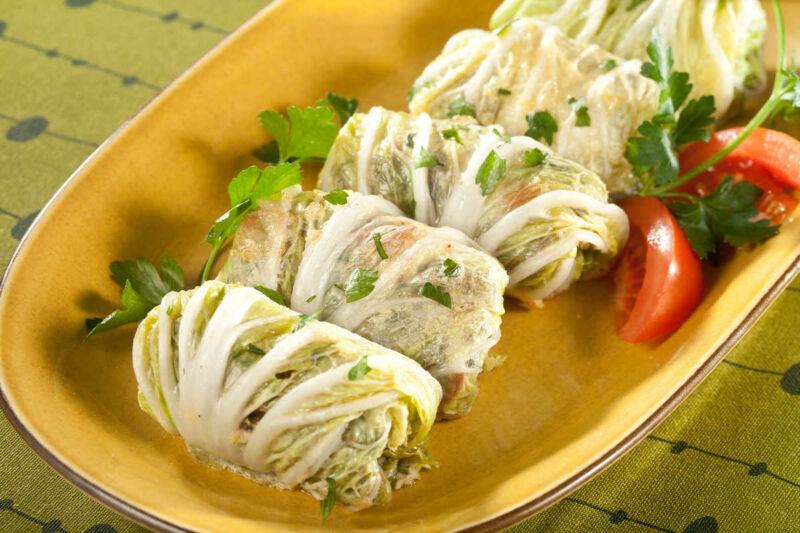 Голубцы с рисом и фаршем — 6 рецептов приготовления этап 29