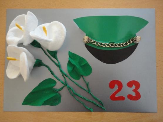 Открытка папе на 23 февраля своими руками — 70 идей для создания открыток ко Дню Защитника Отечества этап 84