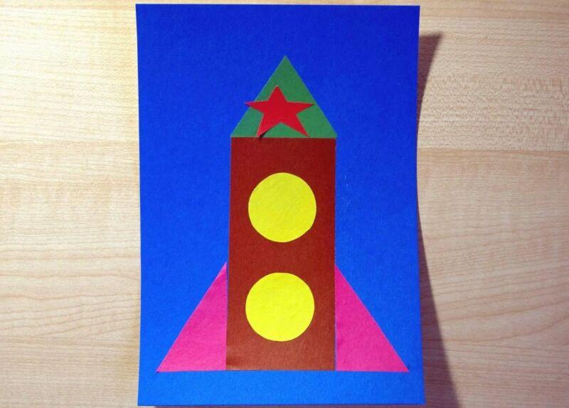 Ракета из бумаги и картона для детей: как сделать своими руками поделку ракету этап 43