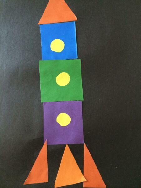 Ракета из бумаги и картона для детей: как сделать своими руками поделку ракету этап 44