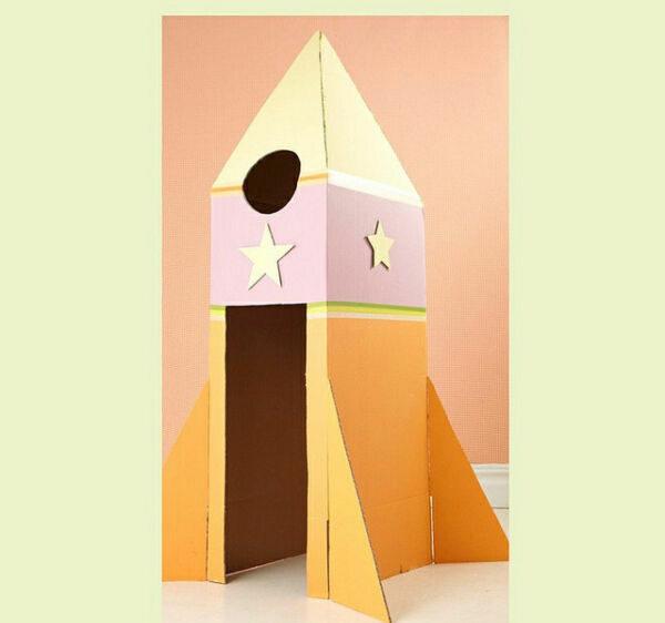 Ракета из бумаги и картона для детей: как сделать своими руками поделку ракету этап 62