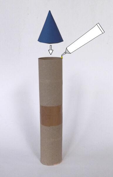 Ракета из бумаги и картона для детей: как сделать своими руками поделку ракету этап 54