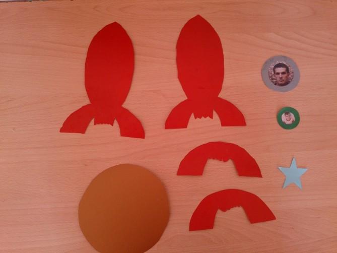 Ракета из бумаги и картона для детей: как сделать своими руками поделку ракету этап 39