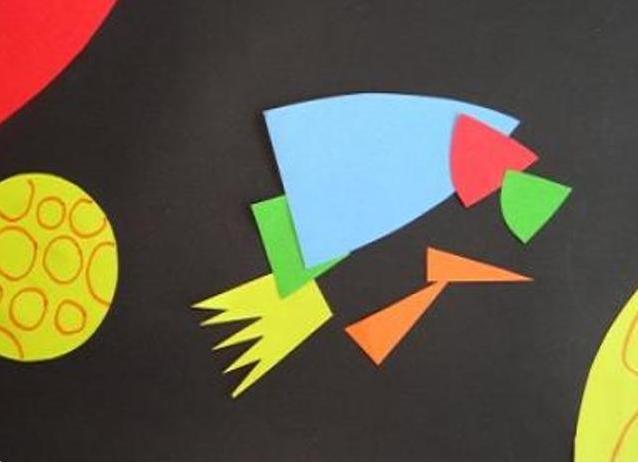 Ракета из бумаги и картона для детей: как сделать своими руками поделку ракету этап 79
