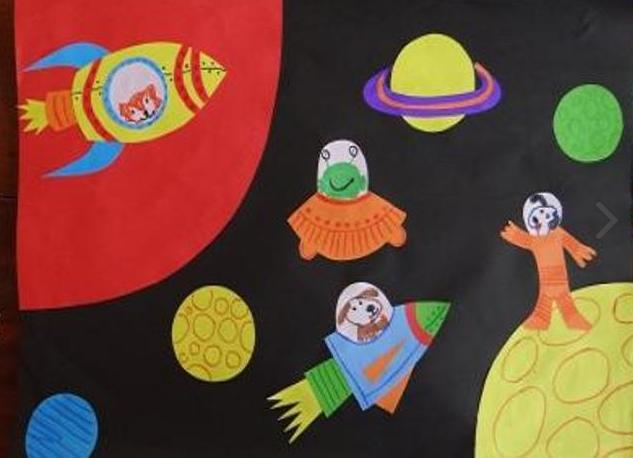Ракета из бумаги и картона для детей: как сделать своими руками поделку ракету этап 82