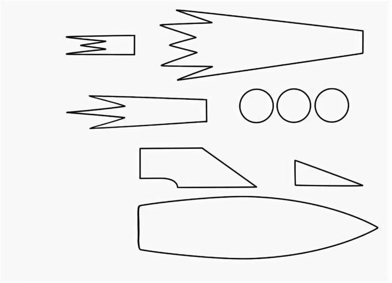 Ракета из бумаги и картона для детей: как сделать своими руками поделку ракету этап 2