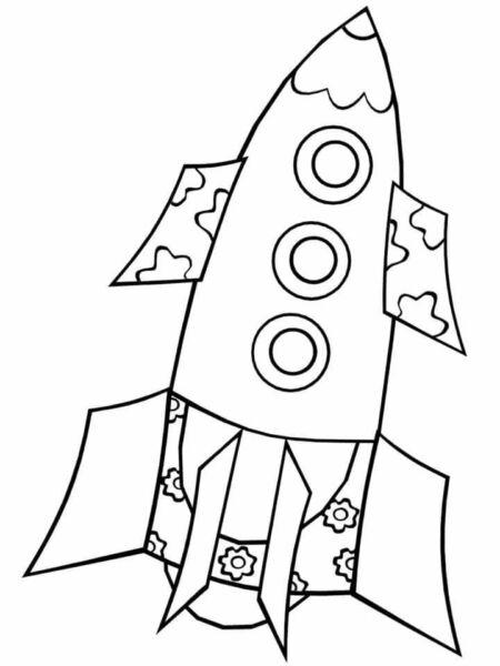Ракета из бумаги и картона для детей: как сделать своими руками поделку ракету этап 3