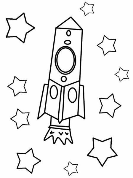 Ракета из бумаги и картона для детей: как сделать своими руками поделку ракету этап 5