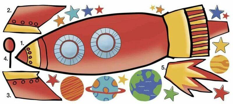 Ракета из бумаги и картона для детей: как сделать своими руками поделку ракету этап 7