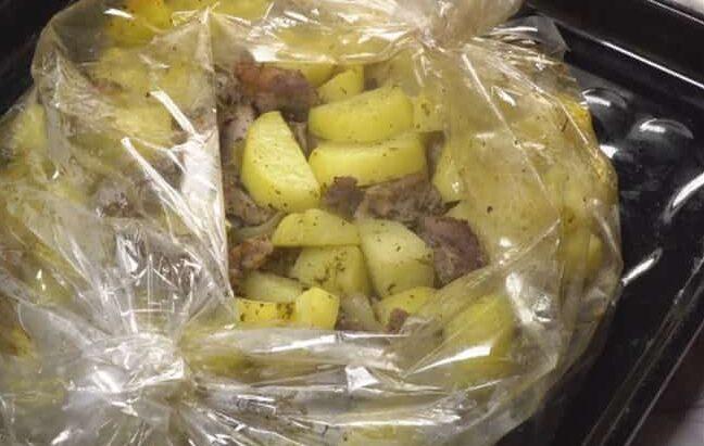 Картошка с мясом в духовке — 6 рецептов этап 28