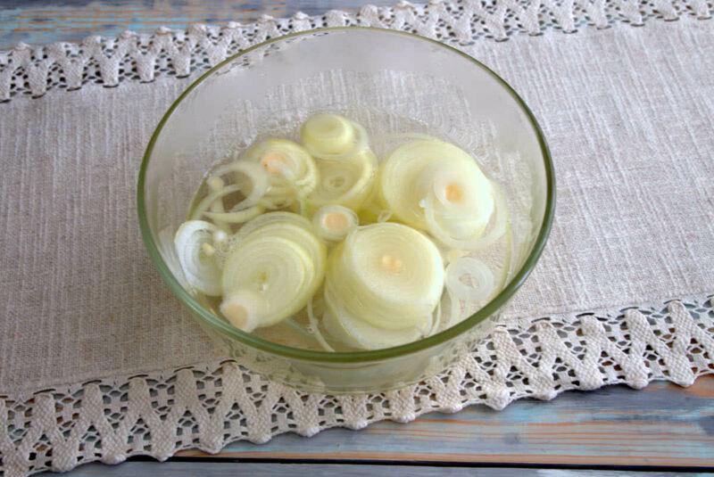Маринованный лук для шашлыка: 5 быстрых рецептов маринования лука этап 5