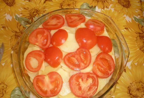Картошка с мясом в духовке — 6 рецептов этап 19