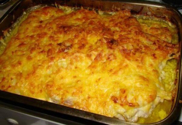 Картошка с мясом в духовке — 6 рецептов этап 14