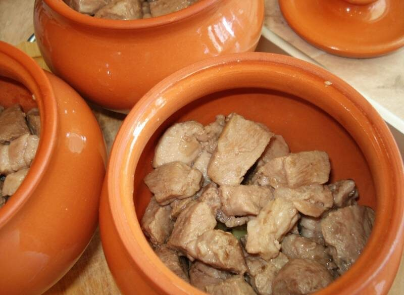Картошка с мясом в духовке — 6 рецептов этап 10