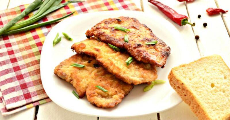Отбивные из свинины на сковороде — 5 рецептов приготовления вкусных и сочных отбивных этап 20