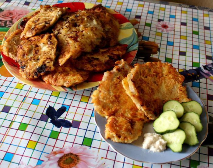 Отбивные из свинины на сковороде — 5 рецептов приготовления вкусных и сочных отбивных этап 26
