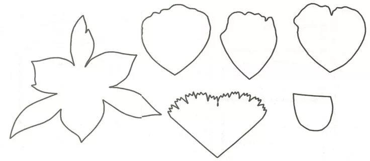 Розы из гофрированной бумаги своими руками: пошаговые инструкции для начинающих этап 55